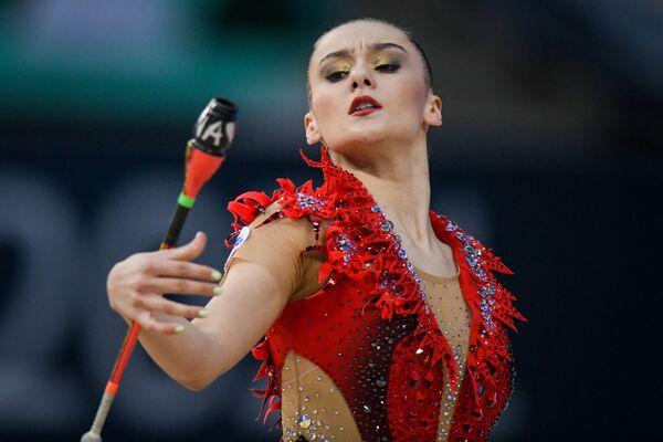Белорусская гимнастка Алина Харнаско - Sputnik Азербайджан