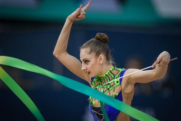 Болгарская гимнастка Боряна Калейн - Sputnik Азербайджан