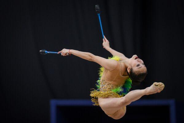 Японская гимнастка Кита Сумирэ - Sputnik Азербайджан