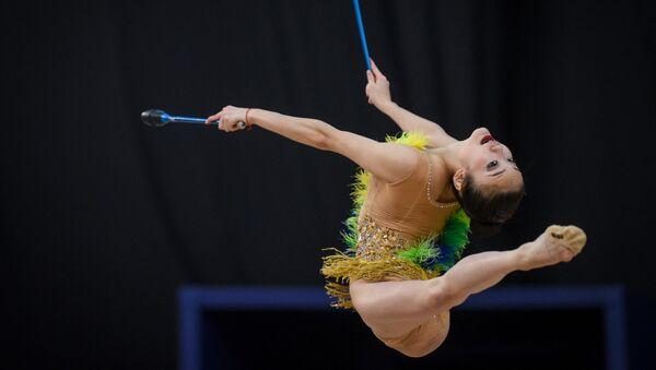 Японская гимнастка Кита Сумирэ - Sputnik Azərbaycan