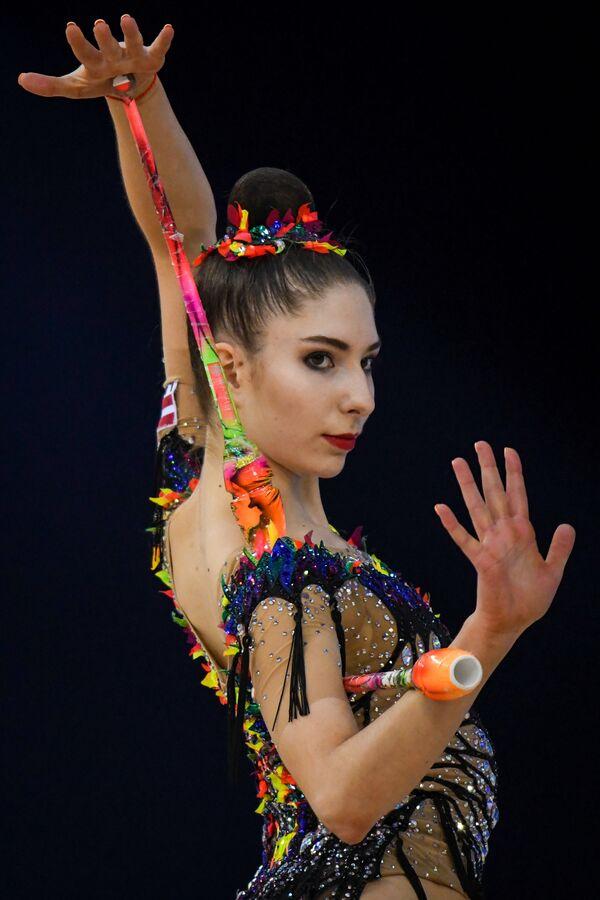 Латвийская спортсменка Елизавета Полстяная - Sputnik Азербайджан