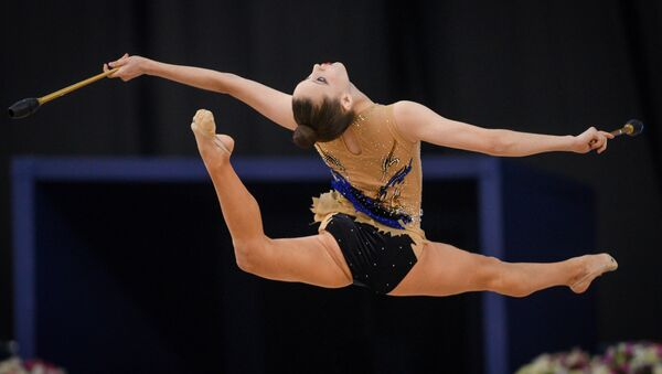 Польская гимнастка Малгожата Хойнацка - Sputnik Азербайджан