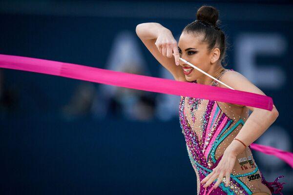 Болгарская гимнастка Катрин Тасева - Sputnik Азербайджан