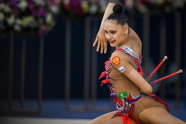 Российская гимнастка Дарья Трубникова - Sputnik Азербайджан