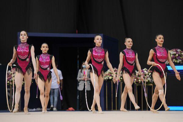 Команда сборной Азербайджана по художественной гимнастике - Sputnik Азербайджан