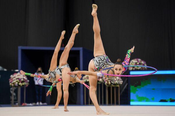 Команда сборной Израиля по художественной гимнастике - Sputnik Азербайджан
