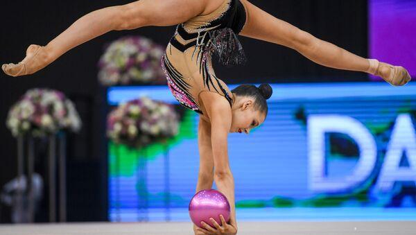 Российская гимнастка Дарья Трубникова - Sputnik Azərbaycan