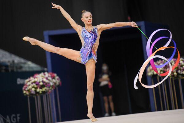 Спортсменка из Словении Екатерина Веденеева - Sputnik Азербайджан
