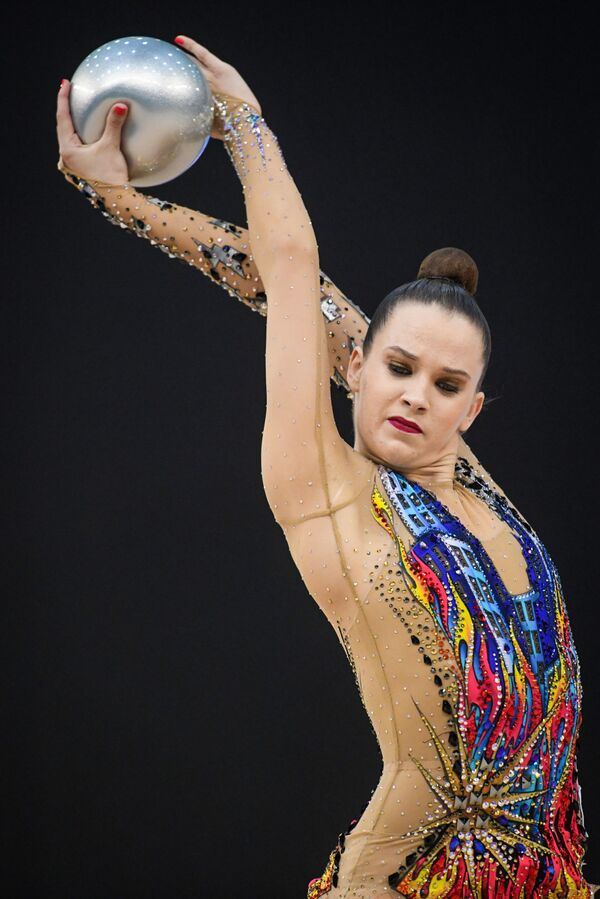 Израильская гимнастка Николь Зеликман - Sputnik Азербайджан