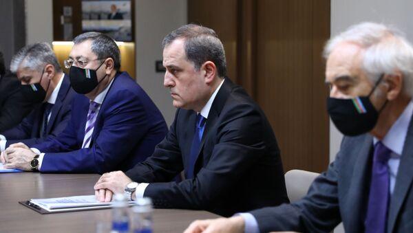 Визит главы МИД РФ С. Лаврова в Азербайджан. День второй - Sputnik Азербайджан