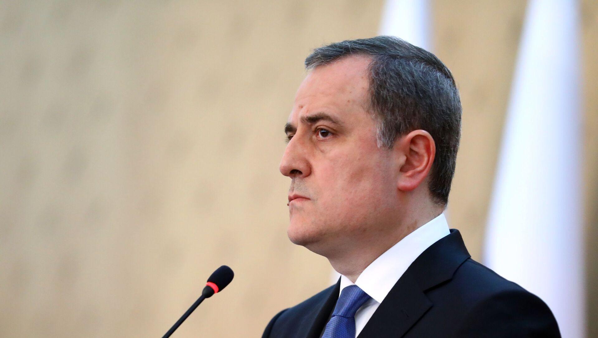 Глава МИД Азербайджана Джейхун Байрамов, фото из архива - Sputnik Азербайджан, 1920, 31.08.2021