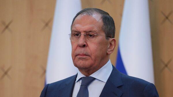 Министр иностранных дел РФ Сергей Лавров  - Sputnik Азербайджан