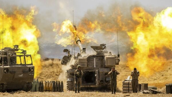 Израильские военные, фото из архива - Sputnik Азербайджан