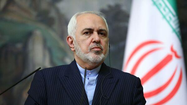 Министр иностранных дел Ирана Мохаммад Джавад Зариф, фото из архива - Sputnik Азербайджан