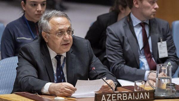 Постоянный представитель Азербайджана при ООН Яшара Алиев, фото из архива - Sputnik Азербайджан