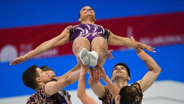 II Европейские игры. Спортивная аэробика - Sputnik Азербайджан