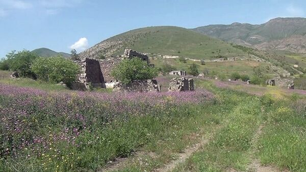 Село Шихлар Джебраильского района - Sputnik Азербайджан