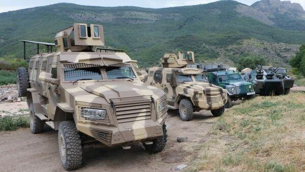 На государственной границе с Арменией, приступила к служебно-боевой деятельности новая воинская часть – пограничная комендатура - Sputnik Azərbaycan