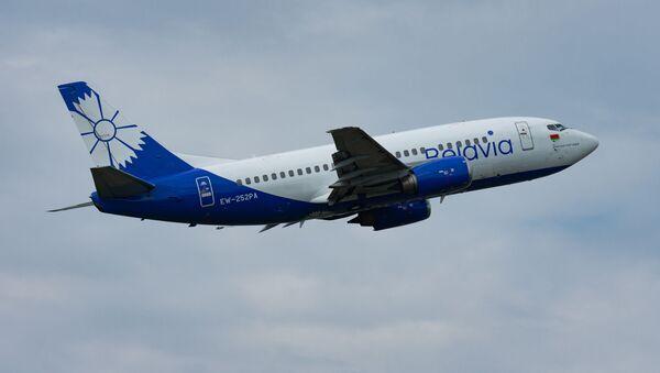 Самолет авиакомпании Белавиа, фото из архива - Sputnik Азербайджан