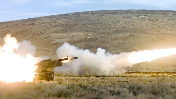 HIMARS raket-artilleriya sistemi, arxiv şəkli - Sputnik Azərbaycan