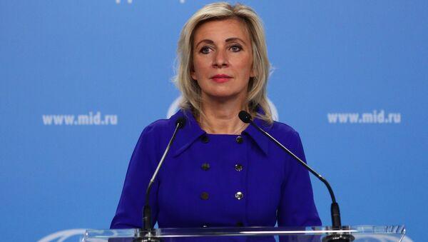 Официальный представитель Министерства иностранных дел России Мария Захарова, фото из архива - Sputnik Azərbaycan