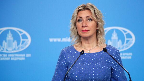 Официальный представитель Министерства иностранных дел России Мария Захарова, фото из архива - Sputnik Азербайджан