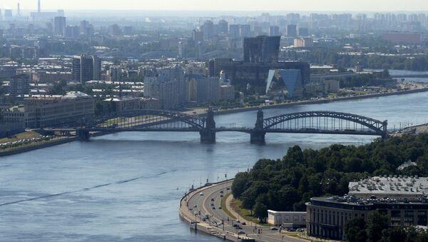 Вид на город Санкт-Петербург, фото из архива - Sputnik Азербайджан
