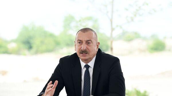Prezident İlham Əliyev - Sputnik Азербайджан