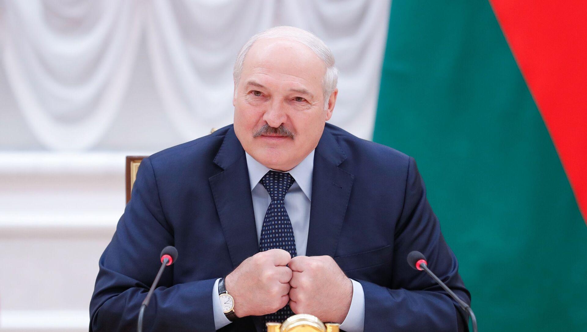 Президент Белоруссии Александр Лукашенко, фото из архива - Sputnik Азербайджан, 1920, 09.08.2021