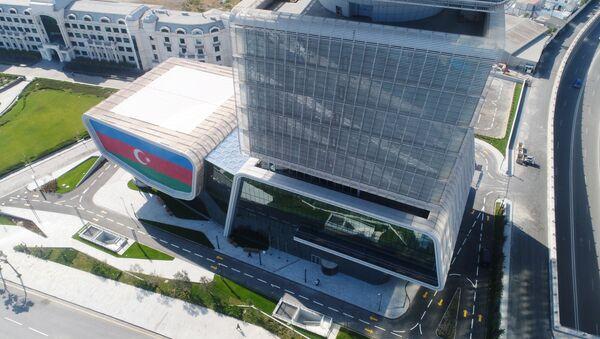 Bakıda İqtisadiyyat Nazirliyinin yeni binası - Sputnik Азербайджан