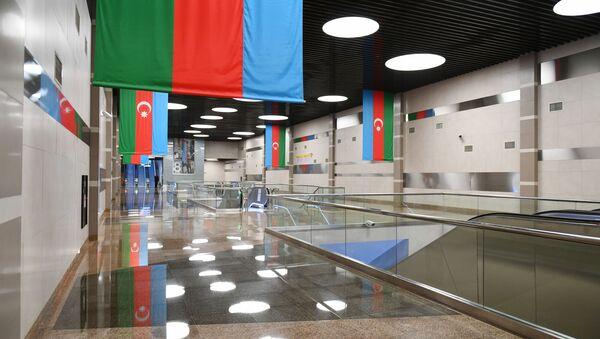 Станция метро 8 Ноября в Баку - Sputnik Азербайджан