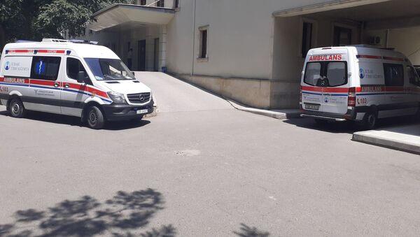 Texniki Humanitar liseydə - Sputnik Azərbaycan