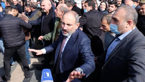 Ситуация в Ереване - Sputnik Azərbaycan