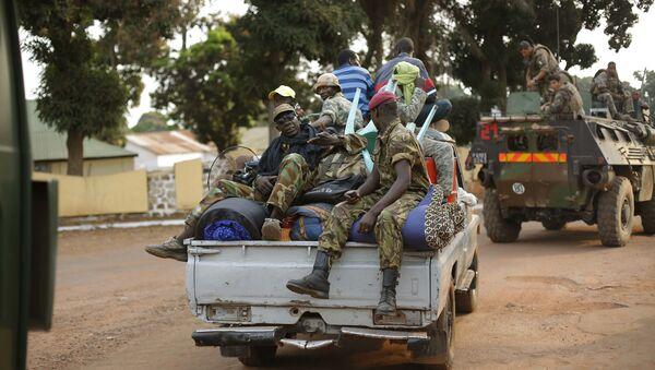 Военнослужащие в Центральноафриканской Республике, фотто из архива - Sputnik Azərbaycan