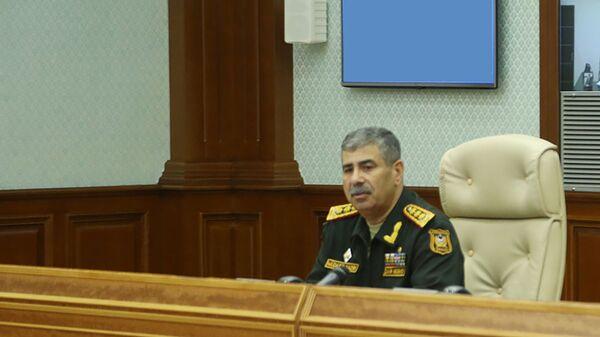 General-polkovnik Zakir Həsənov - Sputnik Азербайджан