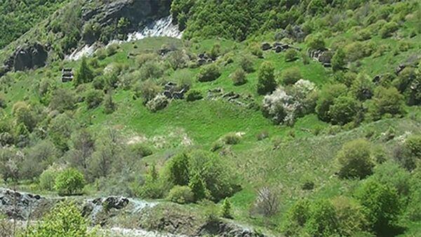 Kəlbəcər rayonunun Dəmirçidam kəndi - Sputnik Азербайджан