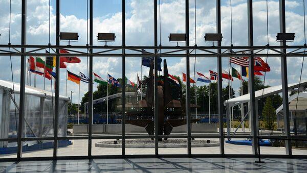 Новая штаб-квартира НАТО в Брюсселе - Sputnik Азербайджан