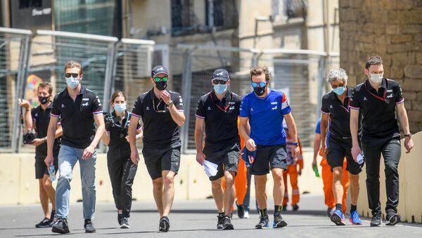 Последние приготовления к Формуле 1 в Баку - Sputnik Азербайджан