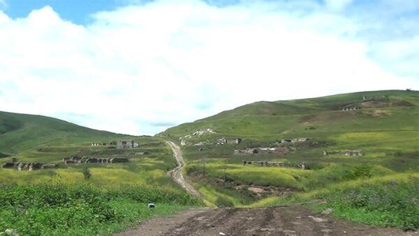 Zəngilan rayonunun İsgəndərbəyli kəndi - Sputnik Азербайджан