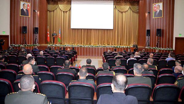 13-е заседание Азербайджано-турецкого военного диалога высокого уровня в Баку - Sputnik Азербайджан