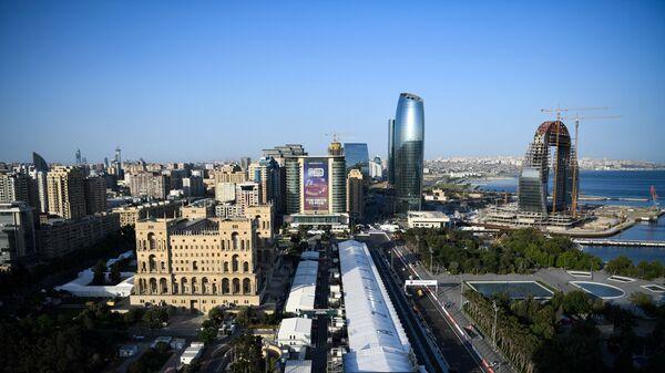 Вид на город Баку, фото из архива - Sputnik Azərbaycan