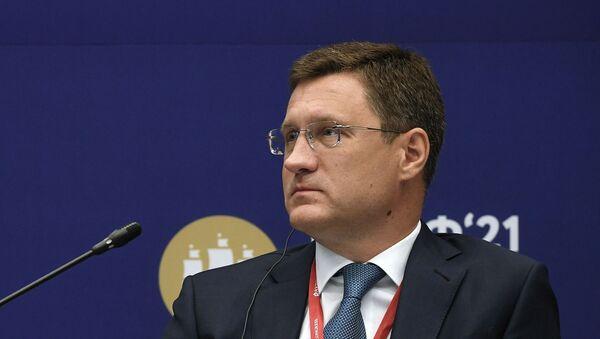 Заместитель председателя правительства РФ Александр Новак - Sputnik Азербайджан