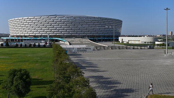 Вид на Бакинский олимпийский стадион, фото из архива - Sputnik Азербайджан