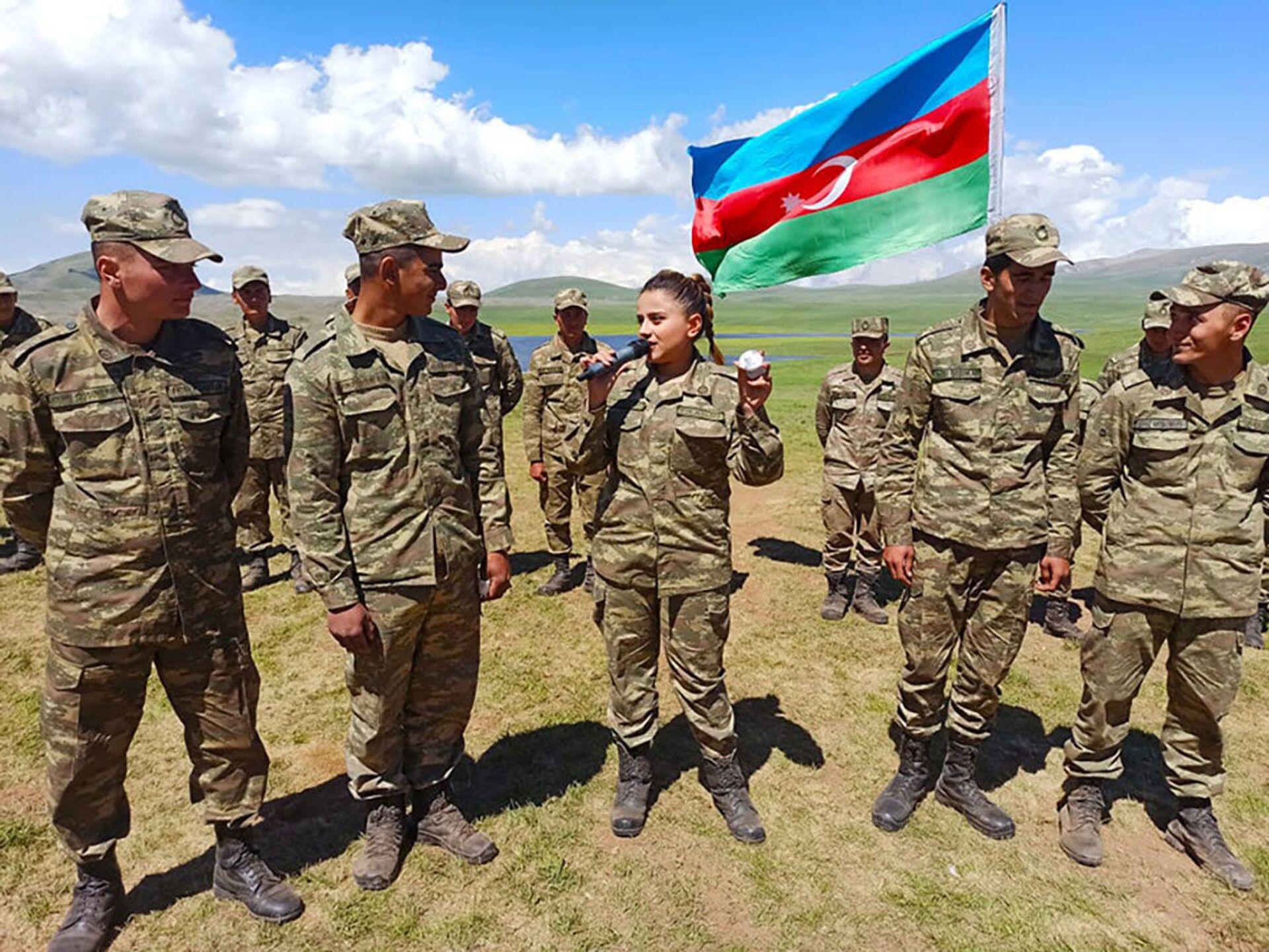 В Карабахе проходят мероприятия с участием азербайджанских военнослужащих - Sputnik Азербайджан, 1920, 08.06.2021
