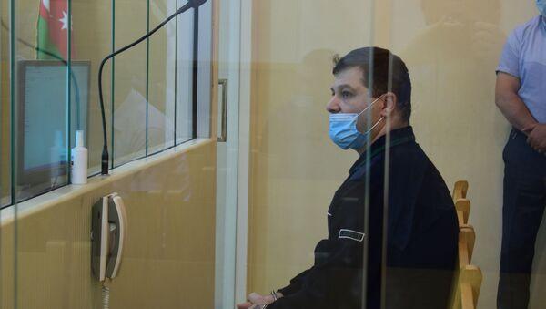 судебное заседание по делу гражданина Ливана Эулджекджияна Викена Абрахама, обвиняемого в террористической деятельности против Азербайджана, 08 июня 2021 года - Sputnik Азербайджан