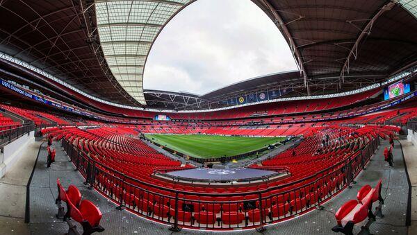 Стадион Уэмбли в Лондоне - Sputnik Азербайджан