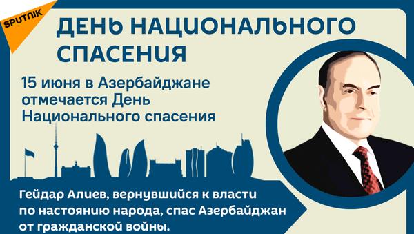 Инфографика: День Национального спасения - Sputnik Азербайджан