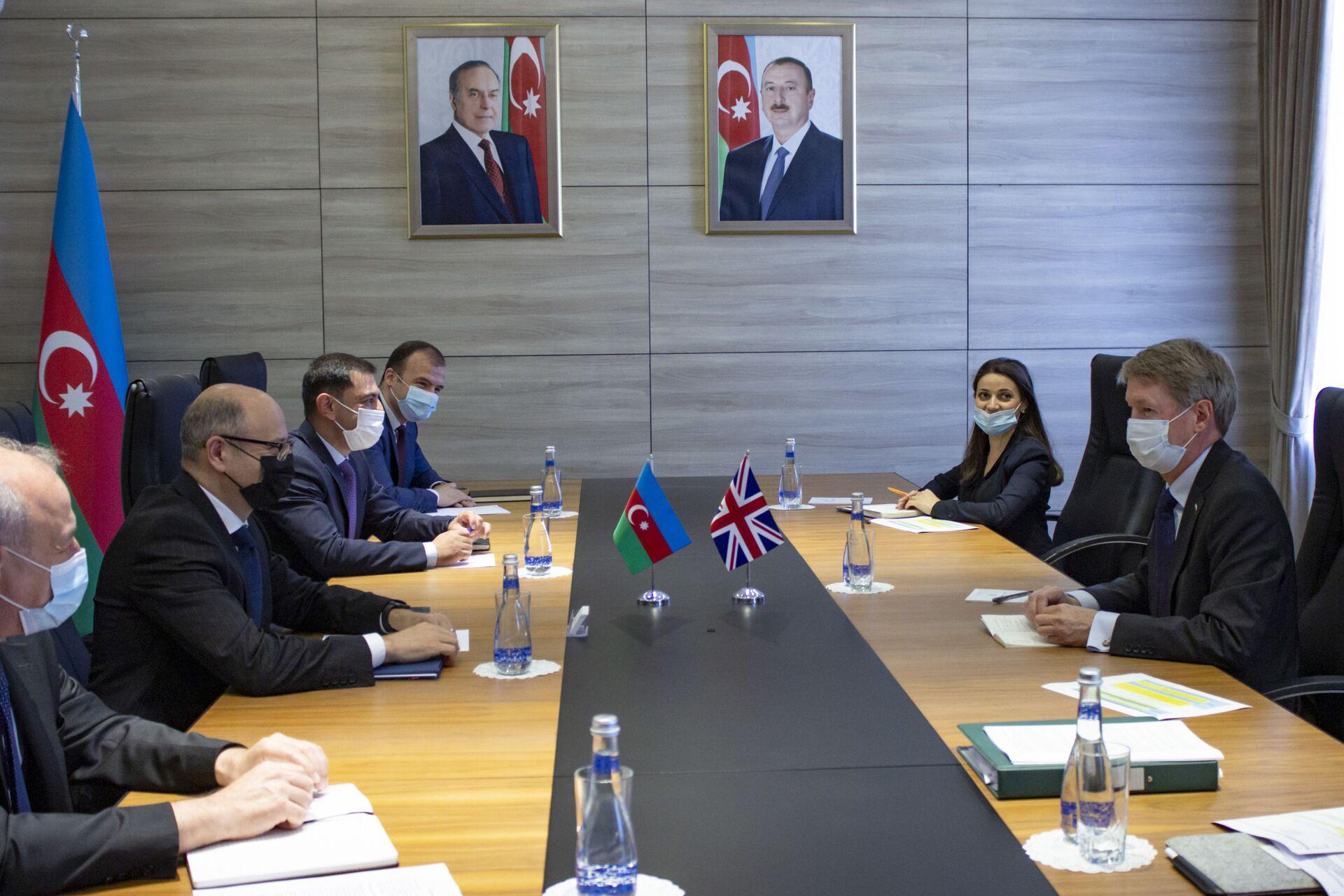 В Баку обсудили перспективы  зеленой энергетики в Зангилан-Джебраильской зоне - Sputnik Азербайджан, 1920, 09.06.2021