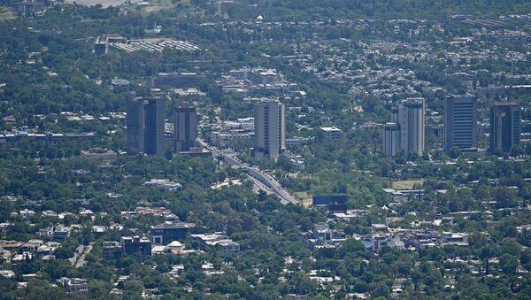 Вид на Исламабад, фото из архива - Sputnik Азербайджан