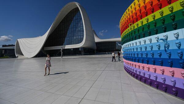 Центр Гейдара Алиева в Баку, фото из архива  - Sputnik Азербайджан